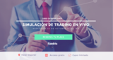 Simulación de trading en vivo