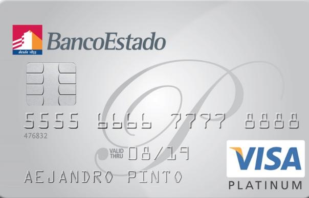 Tarjeta Visa Platinum de Bancoestado: beneficios, requisitos y comisiones