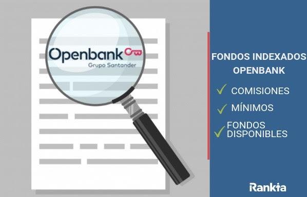 openbank fondos indexados