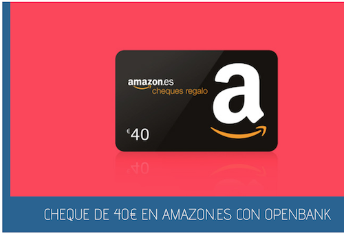 Cheque en amazon con openbank