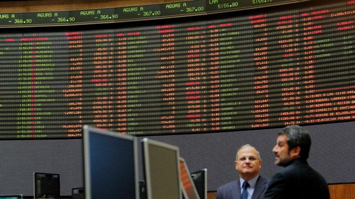 Como afectan las revueltas a las acciones de la Bolsa de Santiago