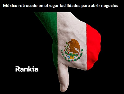 México cae en brindar facilidades para la creación de empresas