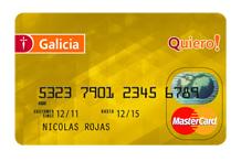 Banco Galicia: tarjetas de crédito Internacional y Gold