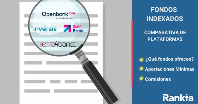 fondos indexados rankia comparativa comisiones