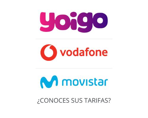 Yoigo vs Vodafone vs Movistar