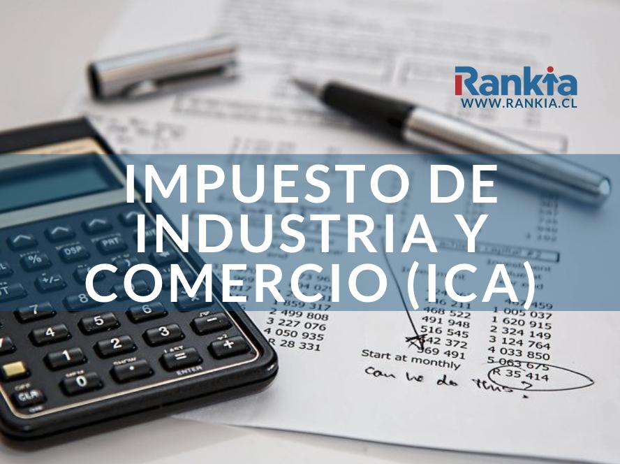 Impuesto ICA: porcentaje, formulario y tarifas