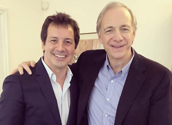 Luis Torras y Ray Dalio