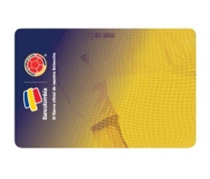Tarjeta de Crédito Visa Selección Colombia