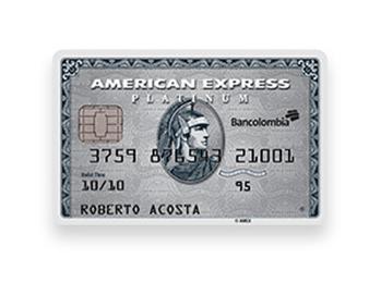 Tarjeta de Crédito American Express Platinum