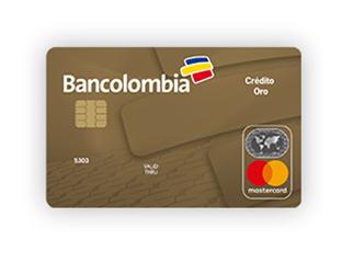 Tarjeta de Crédito MasterCard Oro