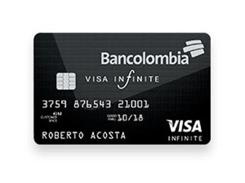 Tarjeta de Crédito Visa Infinite
