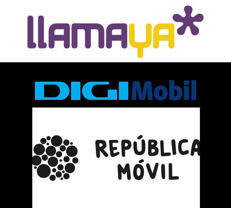 Llama Ya vs Digi mobil vs República Móvil