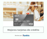 Tarjeta platinum bancomer