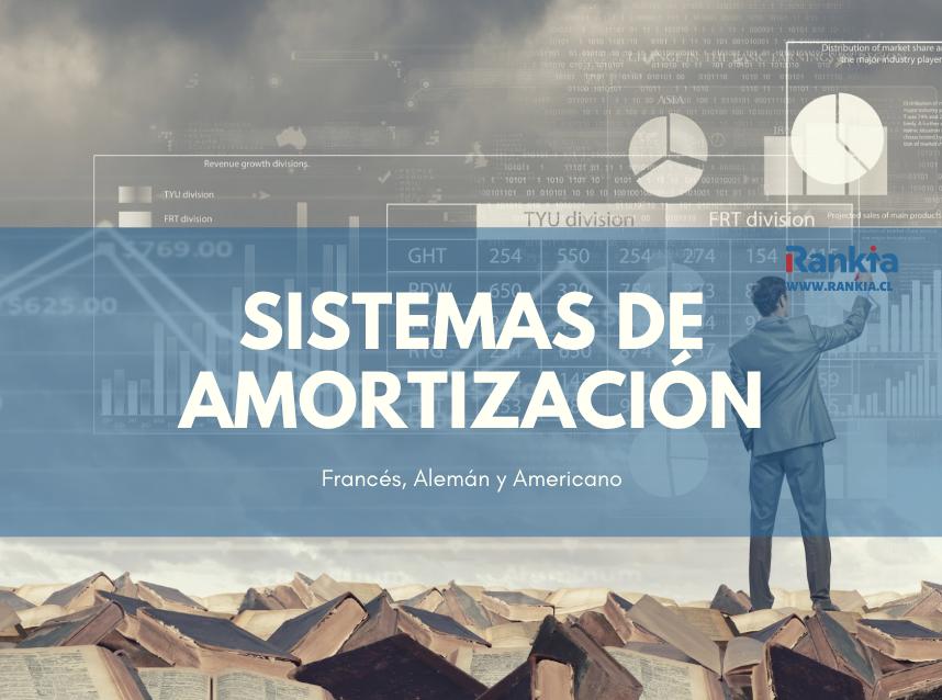 Tipos de sistemas de amortización: francés, alemán y americano.