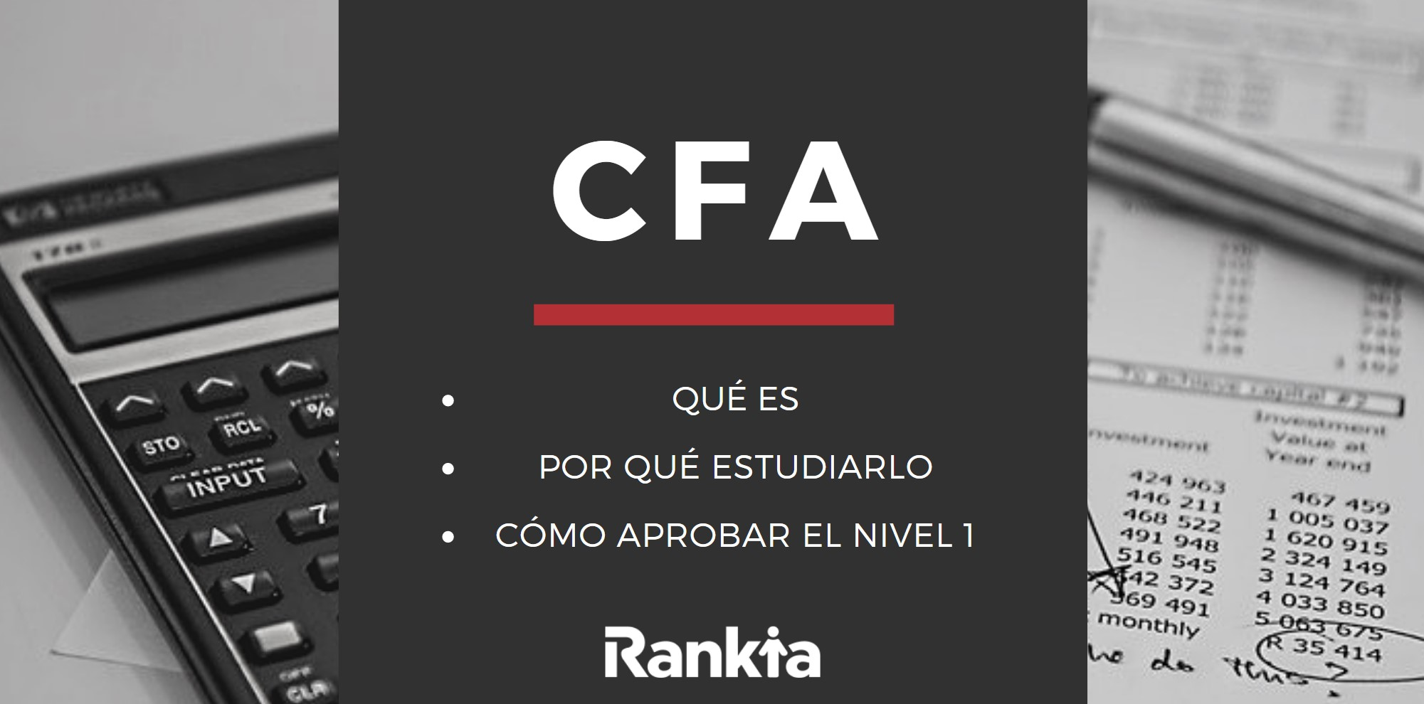 CFA, qué es, por qué estudiarlo