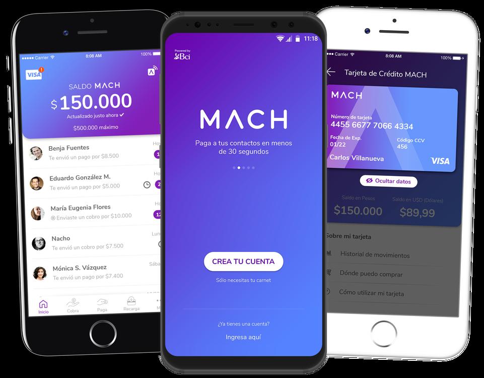 ¿Cómo obtener tarjeta Mach fisica?