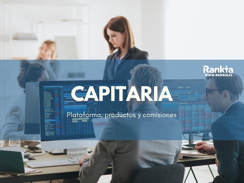 Capitaria: plataforma, productos y comisiones