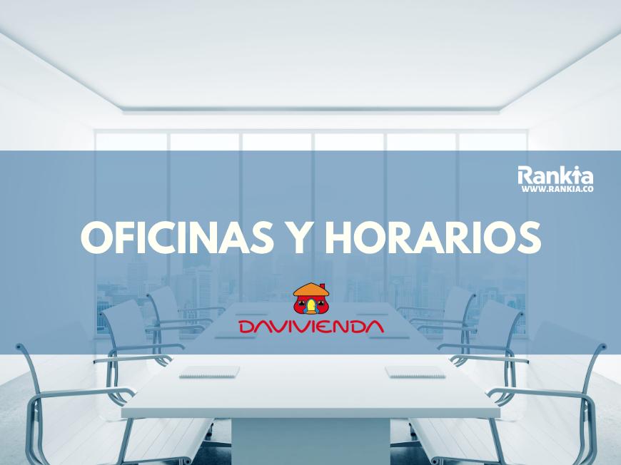 Oficinas y horarios de Banco Davivienda para sábados en Bogotá