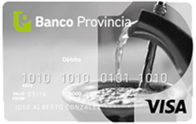 Tarjeta de Débito Visa Banco Provincia