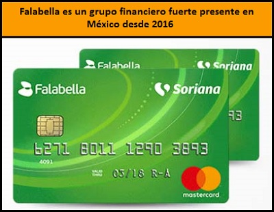 Tarjeta Falabella Soriana
