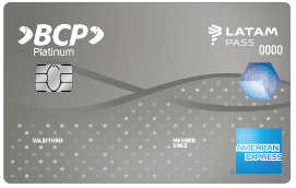 Tarjeta American Express Platinum BCP