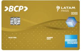 Tarjeta American Express Oro BCP