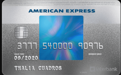 Tarjeta American Express Blue Interbank