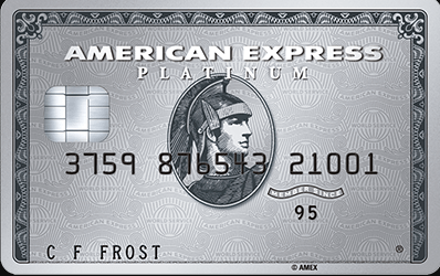 The Platinum Card American Express Interbank