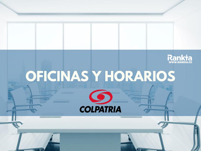 Oficinas y horarios de Banco Colpatria para sábados en Bogotá