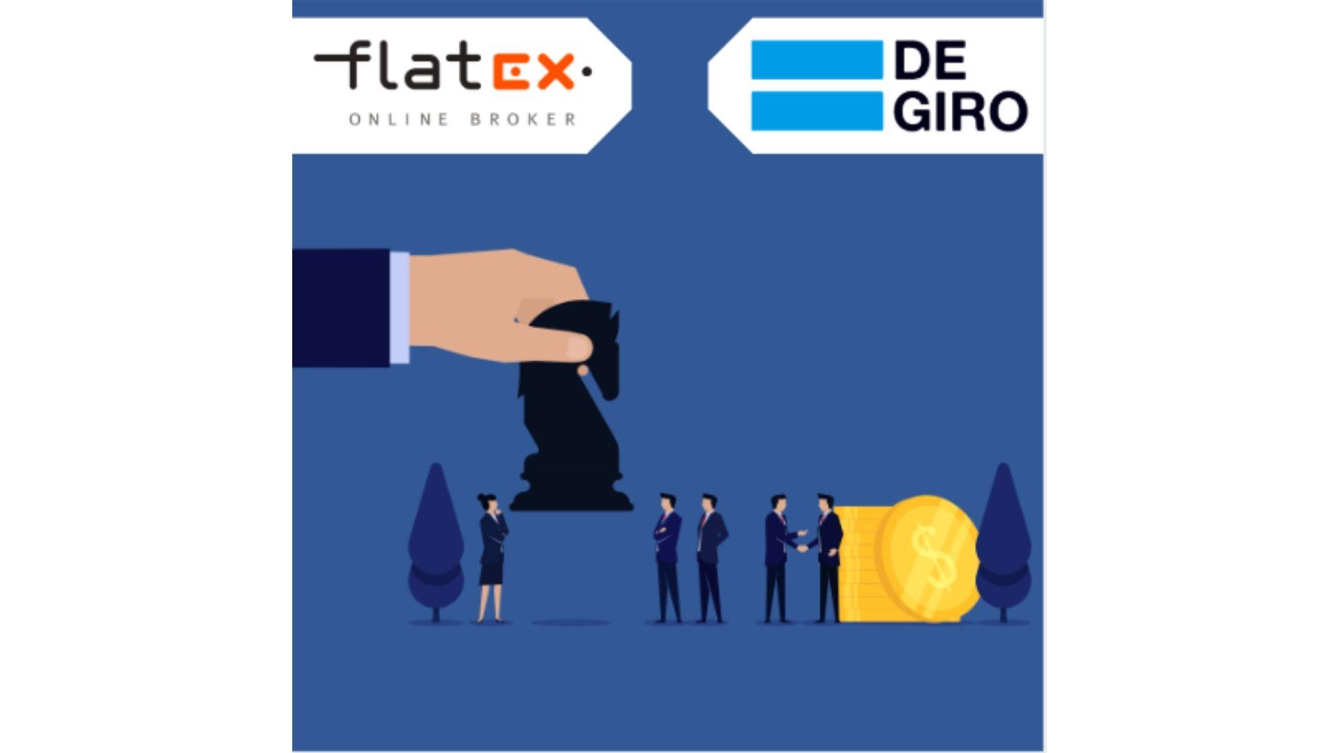 Clientes degiro compra flatex