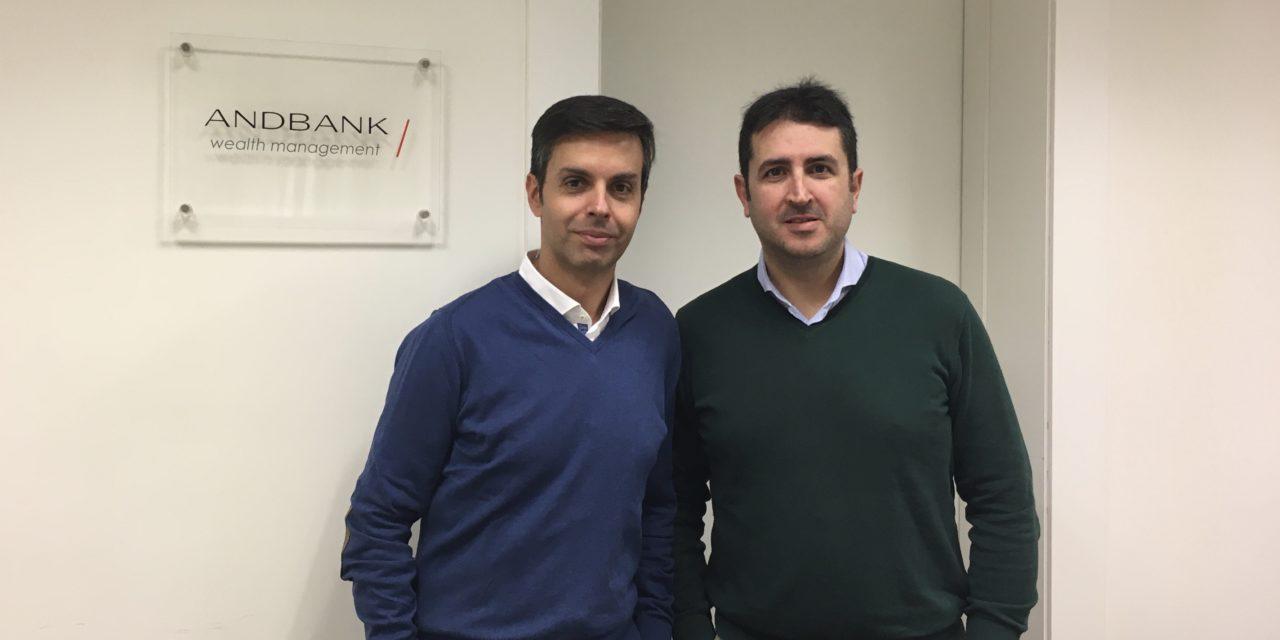 Fernando Hernández y Rubén de la Torre Andbank