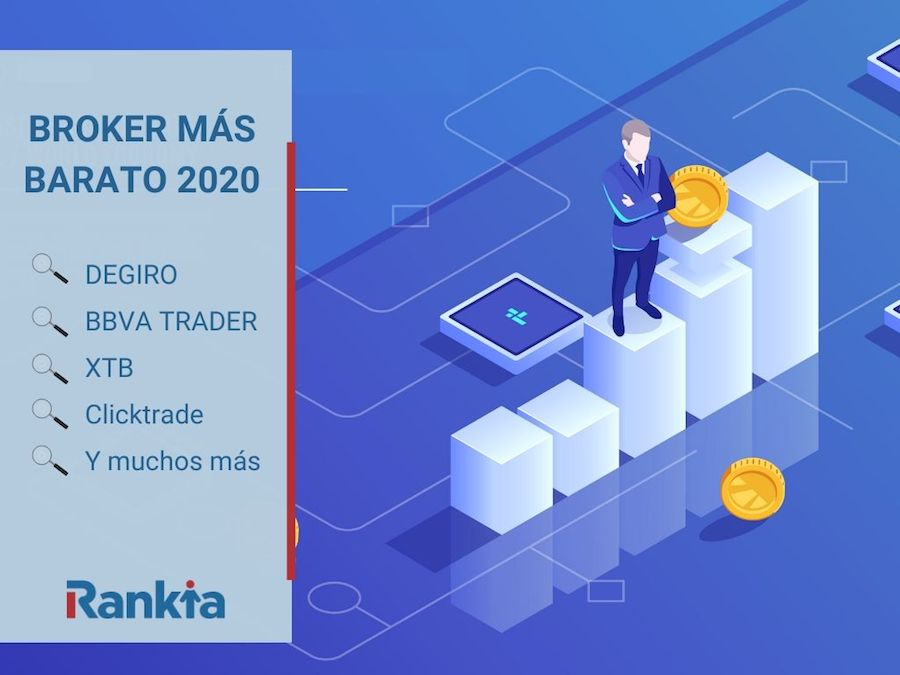 Broker más barato 2020 España