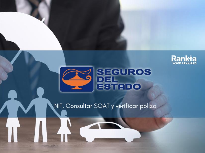 Seguros del estado: NIT, consultar SOAT y verificar poliza