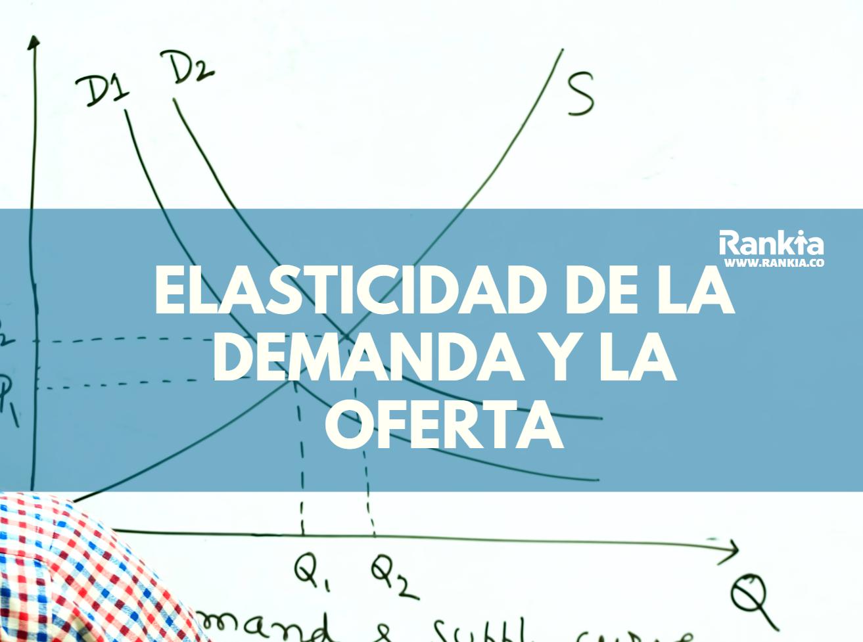 La elasticidad de la demanda y la oferta