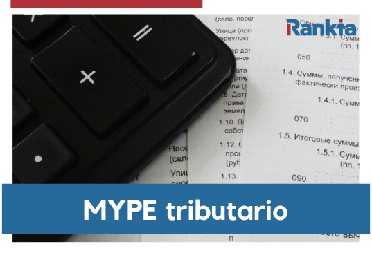 ¿Qué es MYPE tributario?