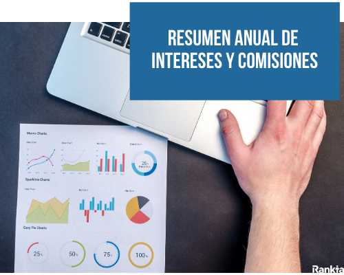 Resumen anual de intereses y comisiones
