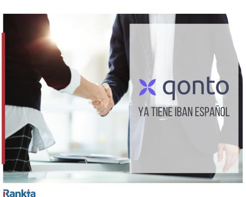 Qonto ya tiene IBAN español