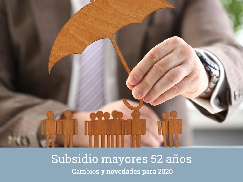 Últimas noticias subsidio mayores 52 años