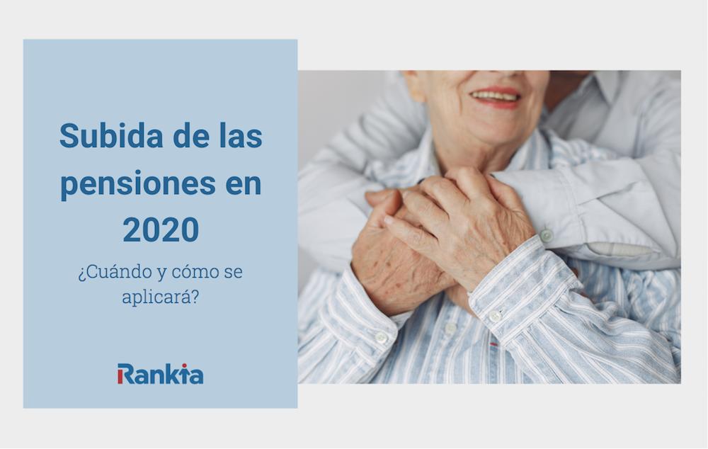 Subida de las pensiones en españa 2020