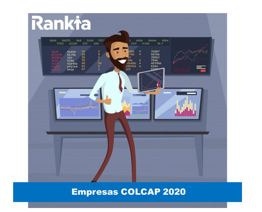 ¿Qué empresas cotizan COLCAP 2020?