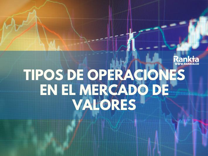 Tipos de operaciones en el mercado de valores