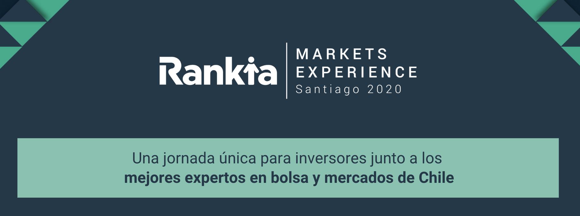 Rankia Markets Experience: ¡El evento financiero del año en Santiago de Chile!