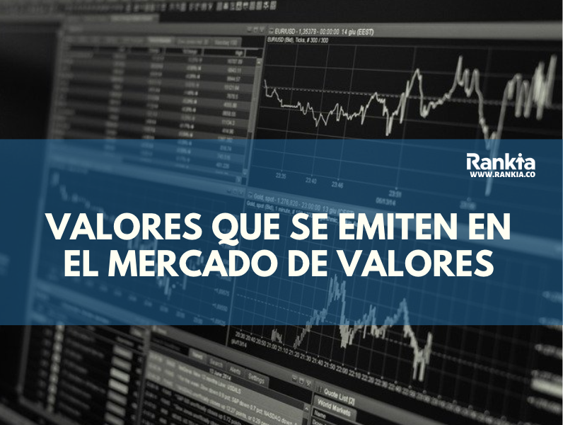 Tipos de valores que se pueden emitir en el mercado de valores