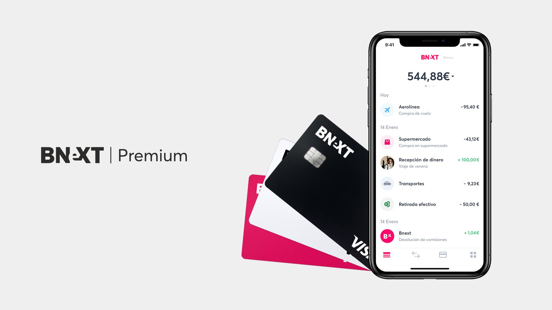 Tarjeta Bnext Premium