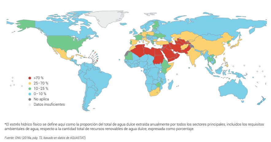 Mapa estrés híbrido ONU