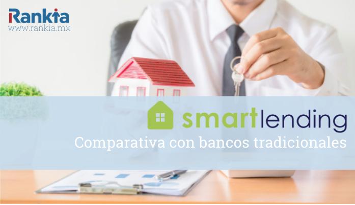 Créditos hipotecarios: Smart Lending vs Bancos Tradicionales