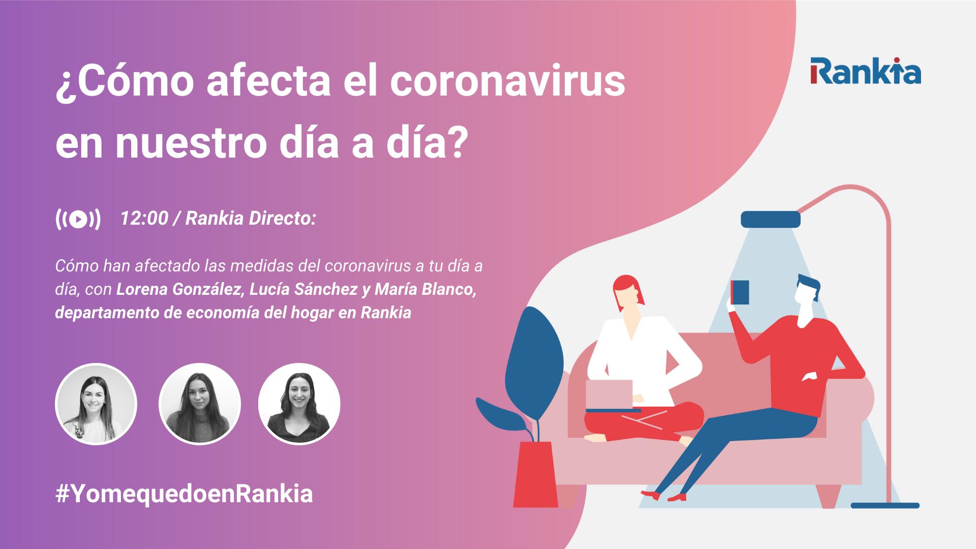 como afecta el coronavirus a nuestro día a día