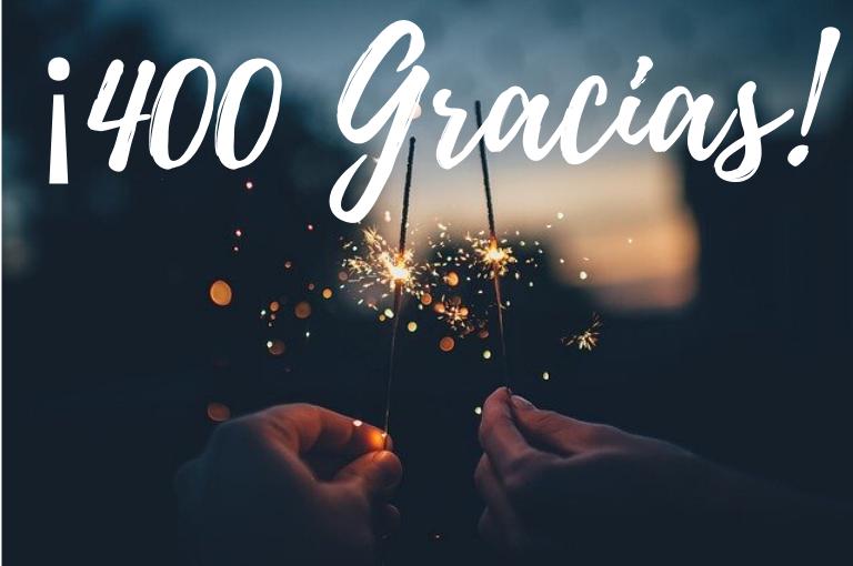 400 gracias