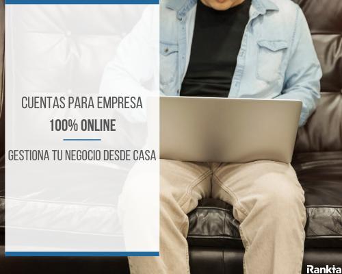 Cuentas para empresas 100% online