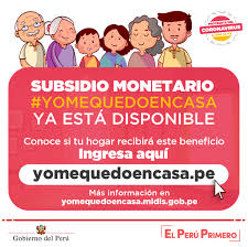 Coronavirus en Perú: ¿Cómo saber si recibiré el bono de 380 soles?